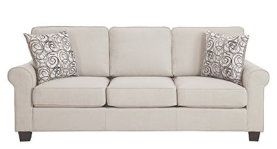 Homelegance 9938SN-3SL Selkirk Fabric Queen Sleeper Sofa with Accent Pillows, Beige