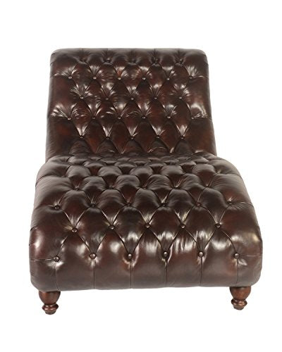 Lazzaro Leather WH-C3988-9011B Cathay Chaise and Half, Large