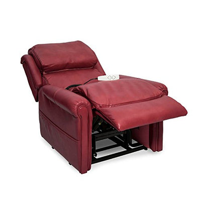 Mega Motion Windermere NM-2350 Three-Position Chaise Lounger with White Glove Delivery + Assembly (Red)