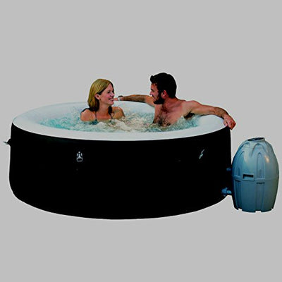 Portable Massage Hot Tub Water Pool Floats Digital Spa Inflatable Indoor 71 x 26 Inch 4-Person Relaxing Heavy Duty Construction - Skroutz
