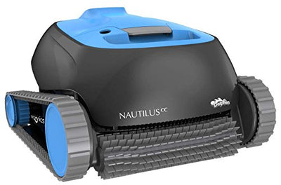 Dolphin Nautilus CC Robotic Pool Cleaner with Top Load Filter Basket Ideal for Pools Up To 35 Feet