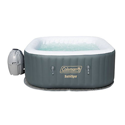 Coleman SaluSpa Inflatable AirJet Hot Tub, Gray