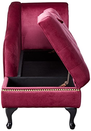 247SHOPATHOME IDF-BN6893RD Lounges, Chaise, Red