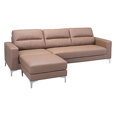 Zuo Versa Sectional, Brown