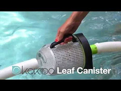 Kokido Zap Max Automatic Suction Swimming Pool Vacuum Leaf Canister