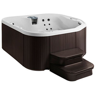 LifeSmart 400DX 5-Person Rock Solid Plug and Play Spa with 19 Jets Plus Bonus Waterfall Jet and Free Super Energy Saving Value Package