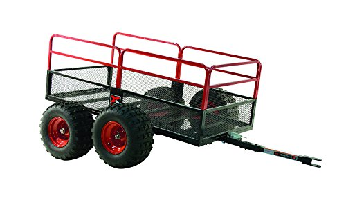 Yutrax TX159 Trail Warrior X4 ATV Utility Trailer - For Off-Road Use