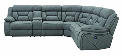 Coaster Home Furnishings 600370 Sectional Sofa, Grey