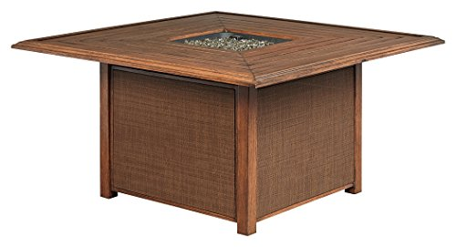 Signature Design by Ashley P764-772 Zoranne Fire Pit Table, Beige/Brown