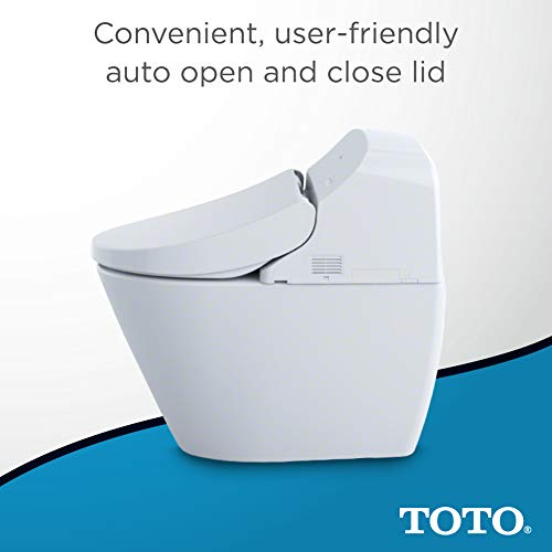 Toto MS920CEMFG#01 1 28-GPF/0 9-GPF Washlet with Integrated Toilet G400,  Cotton White