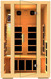 JNH Lifestyles 2 Person Far Infrared Sauna 7 Carbon Fiber Heaters