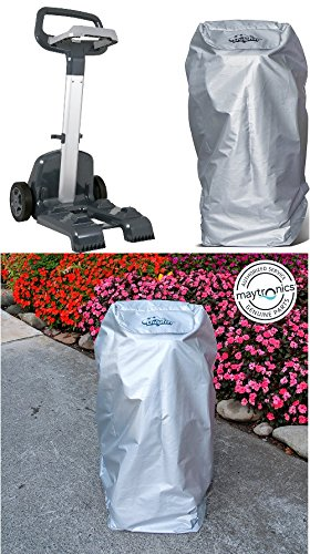 Maytronics Dolphin Nautilus Plus Pro Caddy AND Caddy Cover Combo (All-Weather Protection) for Dolphin Robotic Pool Cleaners