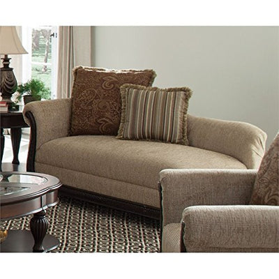 Coaster Chaise Lounge in Brown