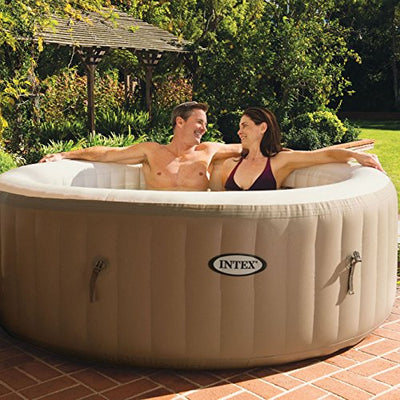 Intex Pure Spa Inflatable 4-Person Hot Tub with Headrest