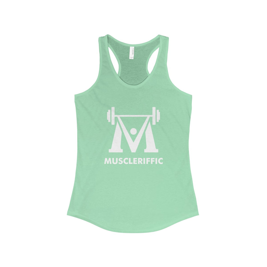Women's Basic Racerback Tank - Full Logo