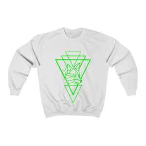 Riding With Nick - Green - Unisex Heavy Blend™ Crewneck Sweatshirt