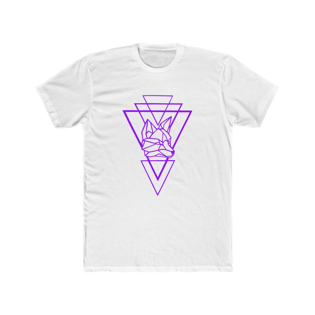 Riding With Nick - Purple - Men's Cotton Crew Tee