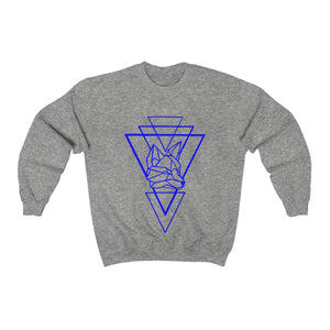 Riding With Nick - Blue - Unisex Heavy Blend™ Crewneck Sweatshirt