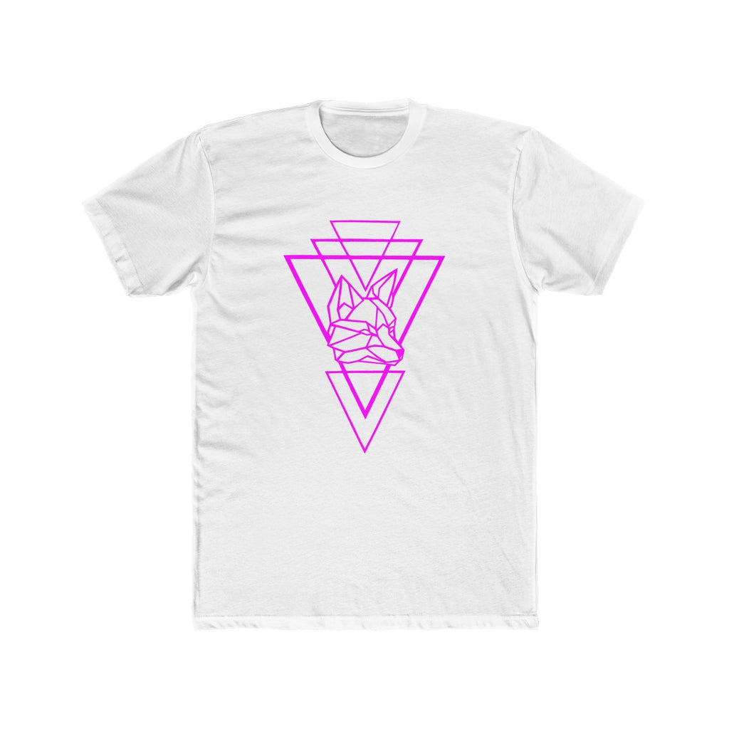 Riding With Nick - Magenta - Men's Cotton Crew Tee