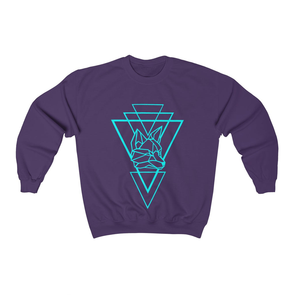 Riding With Nick - Aqua - Unisex Heavy Blend™ Crewneck Sweatshirt