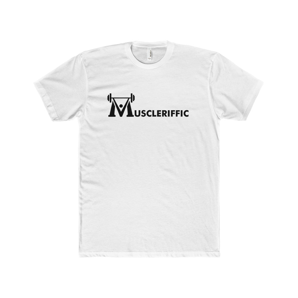 The Nic Basic Tee - Linear Logo - White