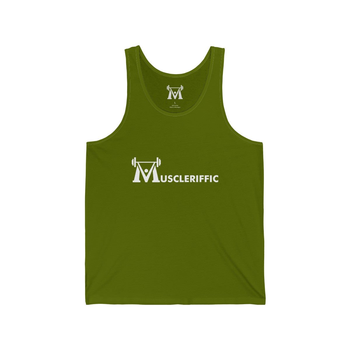 Men's Basic Tank - Linear Logo