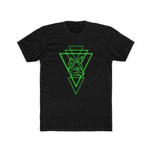 Riding With Nick - Green - Men's Cotton Crew Tee