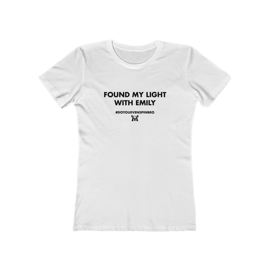 Emily - Women's The Boyfriend Tee