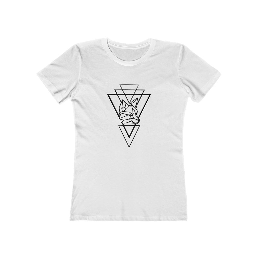 Riding With Nick - White - Women's The Boyfriend Tee