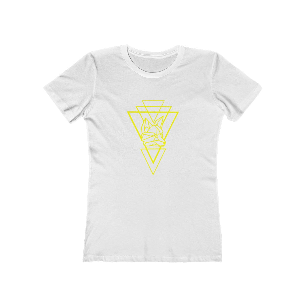 Riding With Nick - Yellow - Women's The Boyfriend Tee