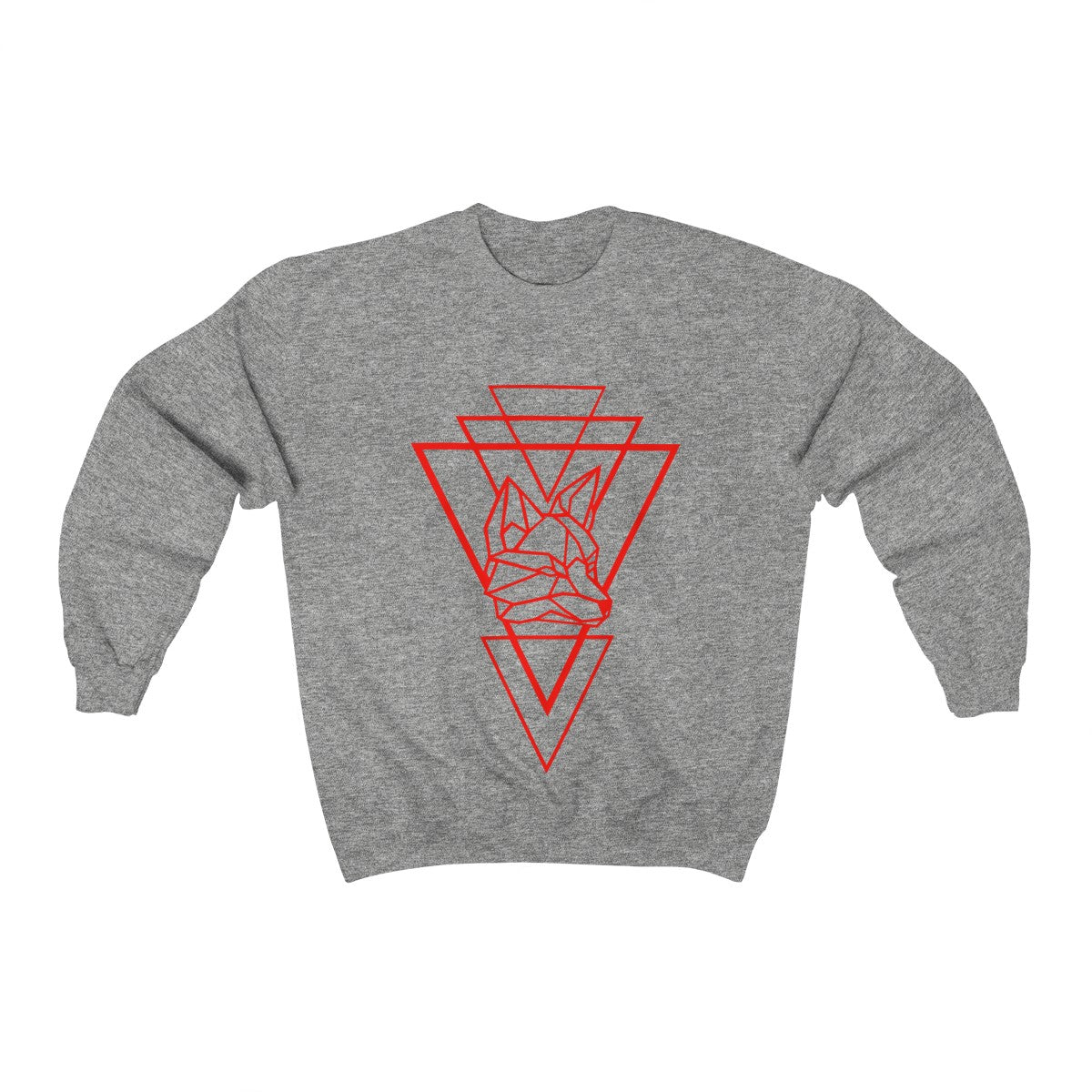 Riding With Nick - Red - Unisex Heavy Blend™ Crewneck Sweatshirt