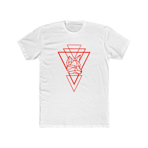 Riding With Nick - Red - Men's Cotton Crew Tee