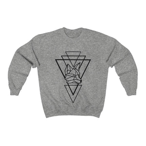 Riding With Nick - Black - Unisex Heavy Blend™ Crewneck Sweatshirt