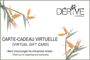 Gift Card - DÉRIVE ECO BRAND