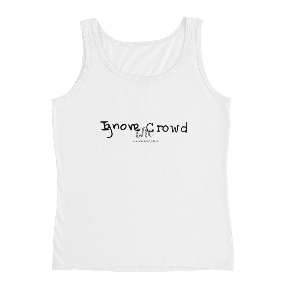 """Ignore the Crowd"" - Ladies' Top"