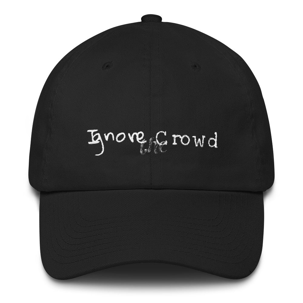 """Ignore the Crowd"" - Cotton Cap"
