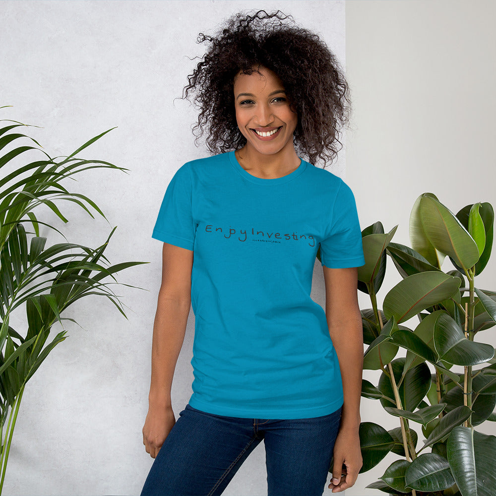 """Enjoy Investing"" - Women's T-Shirt regular"