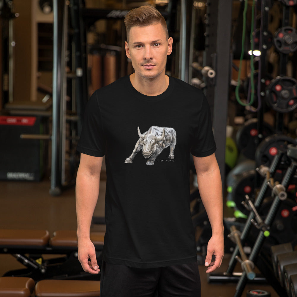 """Wall-Street"" Bull - Men's T-Shirt"