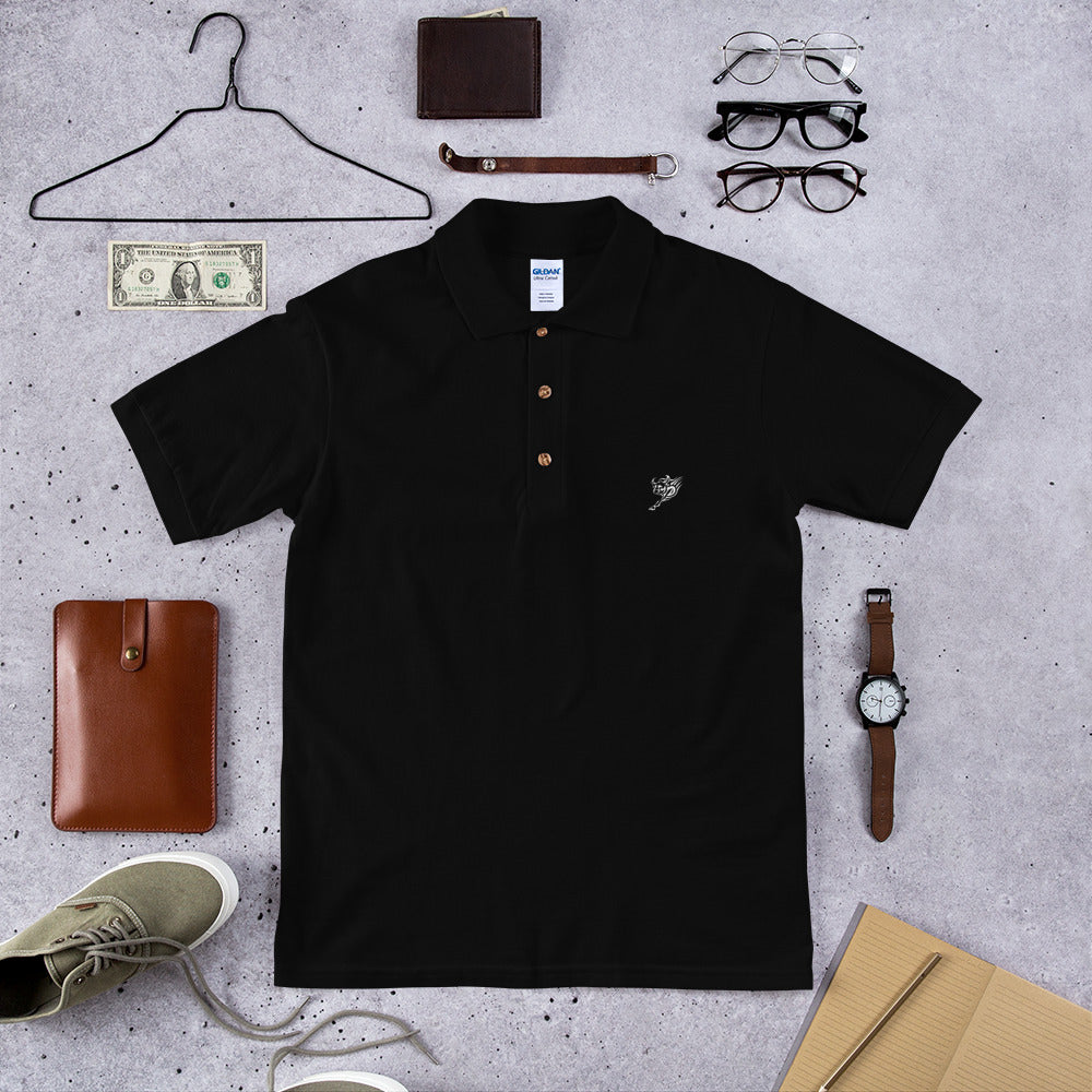 "Bull ""Tattoo"" - Embroidered Polo Shirt"
