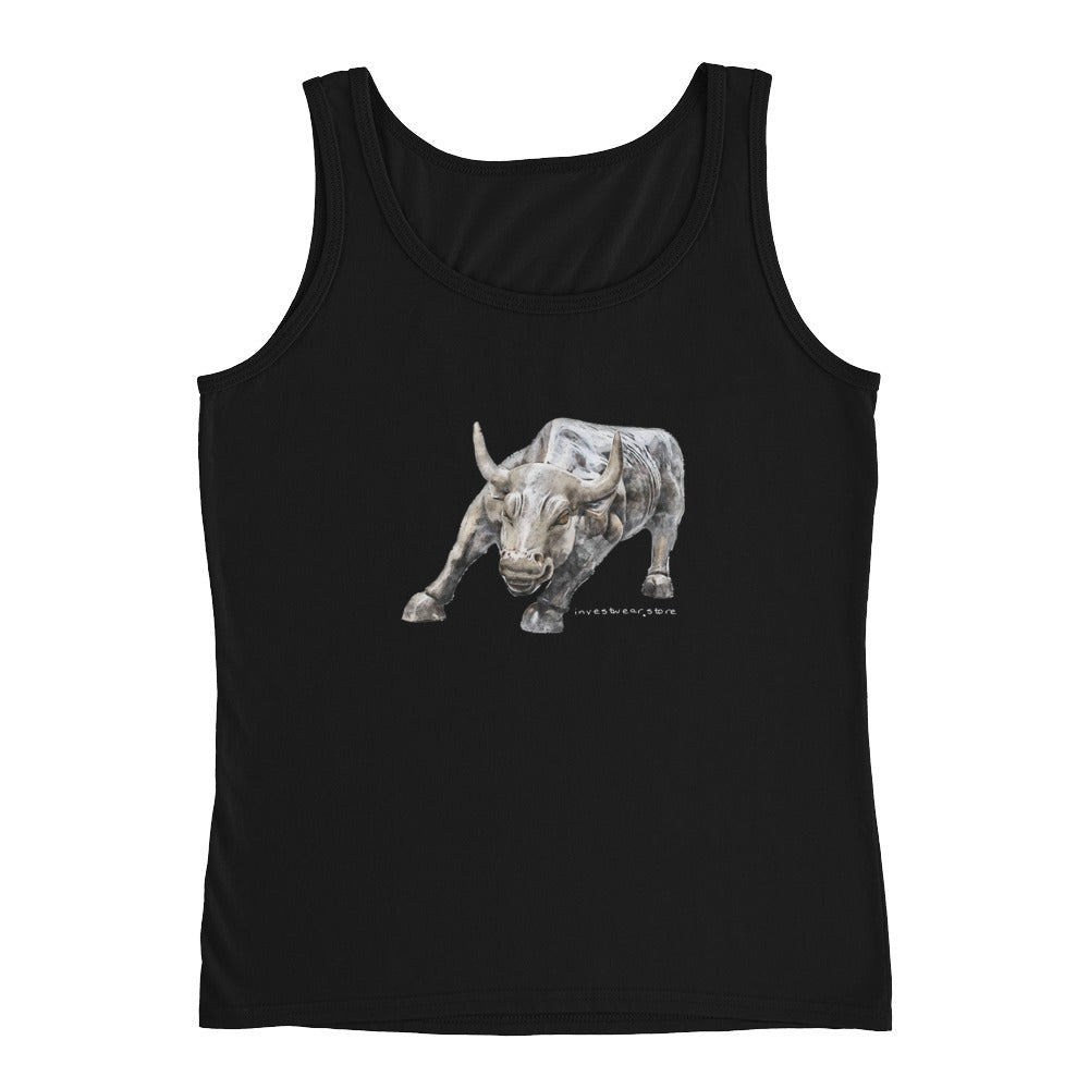 """Wall Street"" Bull - Ladies' Top"