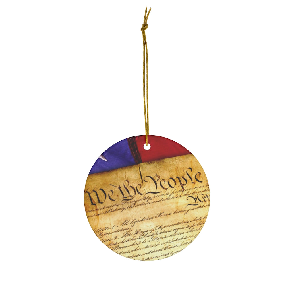 Constitution Christmas Ornament