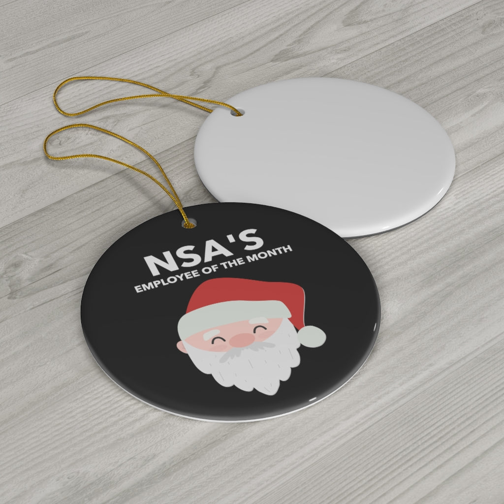 NSA's Employee of the Month Ornament