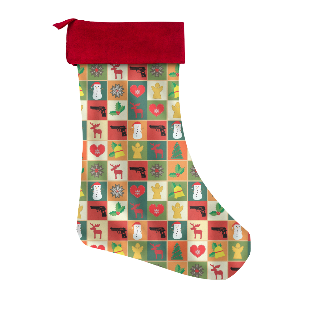 Second Amendment Christmas Stocking