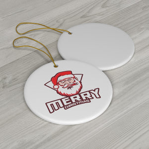 Santa Cigar Ornament