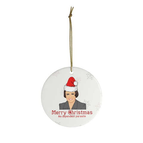 Ayn Rand Christmas Ornaments