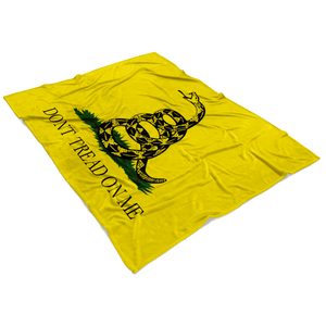 Don't Tread On Me Fleece Blanket