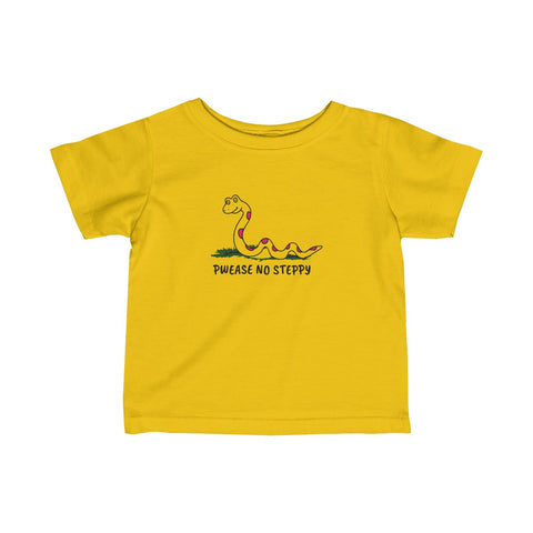 Pwease No Steppy Baby T-Shirt