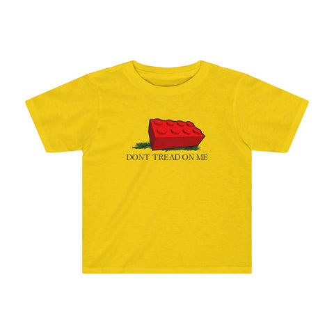 Don't Tread on Me Block Toddler T-Shirt