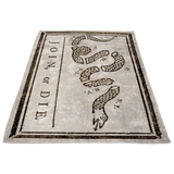 Join Or Die Fleece Blanket