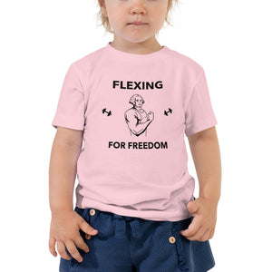 Flexing for Freedom Toddler T-Shirt